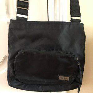 Nylon Crossbody Bag with Adjustable Straps